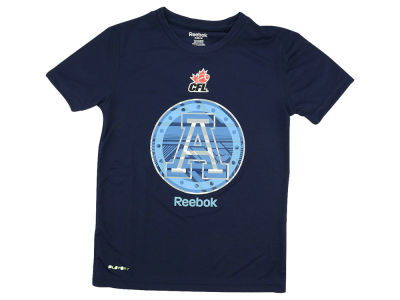 Toronto Argonauts CFL Youth Power Grid Play-Dry T-Shirt
