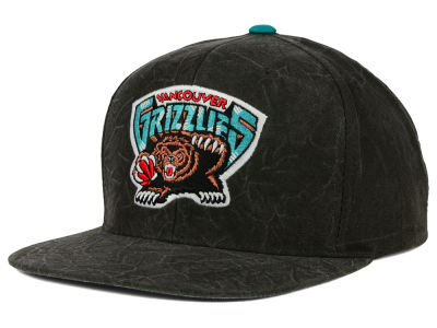 Vancouver Grizzlies Mitchell and Ness NBA Color Crease Snapback Cap
