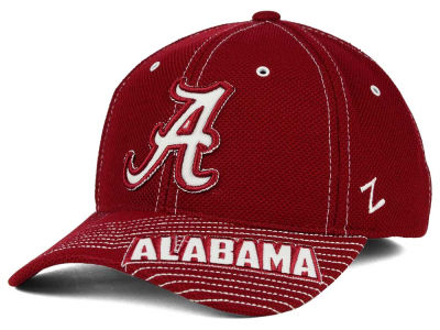 Alabama Crimson Tide Zephyr NCAA Slant Team Color Flex Hat