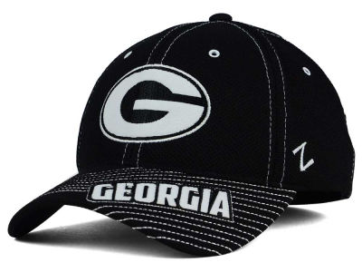 Georgia Bulldogs Zephyr NCAA Slant Team Color Flex Hat