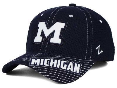 Michigan Wolverines Zephyr NCAA Slant Team Color Flex Hat