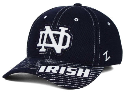 Notre Dame Fighting Irish Zephyr NCAA Slant Team Color Flex Hat