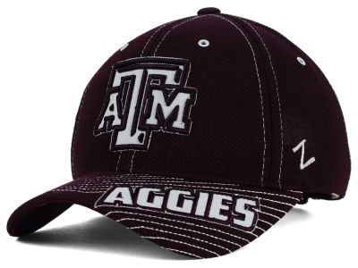 Texas A&M Aggies Zephyr NCAA Slant Team Color Adjustable Hat