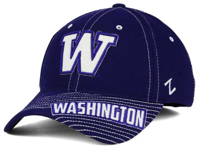 Washington Huskies Zephyr NCAA Slant Team Color Flex Hat