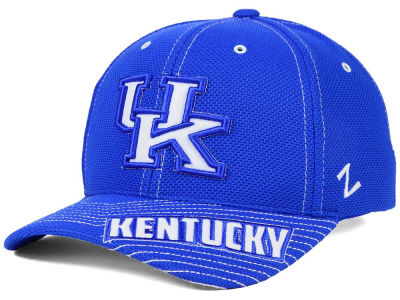 Kentucky Wildcats Zephyr NCAA Slant Team Color Adjustable Hat