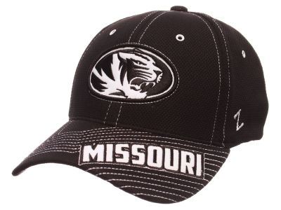 Missouri Tigers Zephyr NCAA Slant Team Color Flex Hat