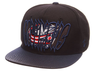Columbus Blue Jackets Zephyr NHL Youth Graffiti Adjustable Hat