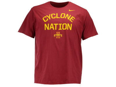 Iowa State Cyclones Nike NCAA Men's Cotton Local Verbiage T-Shirt
