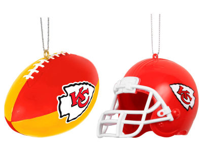Kansas City Chiefs 2-pack ABS Ornaments