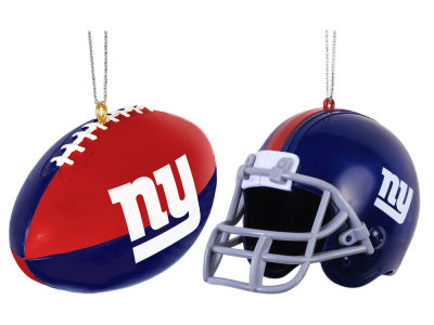New York Giants 2-pack ABS Ornaments