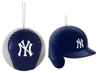 New York Yankees 2-pack ABS Ornaments