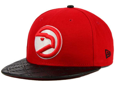 Atlanta Hawks New Era NBA HWC Visor Cross 9FIFTY Snapback Cap