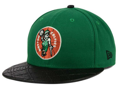 Boston Celtics New Era NBA HWC Visor Cross 9FIFTY Snapback Cap