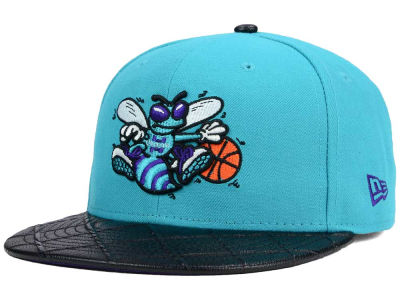 Charlotte Hornets New Era NBA HWC Visor Cross 9FIFTY Snapback Cap