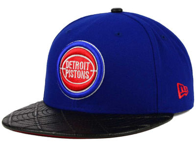 Detroit Pistons New Era NBA HWC Visor Cross 9FIFTY Snapback Cap