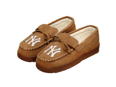 New York Yankees Forever Collectibles Moccasin Slipper