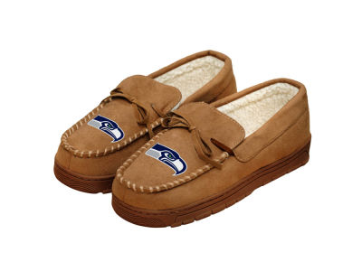 Seattle Seahawks Forever Collectibles Moccasin Slipper