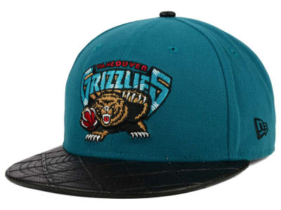 Vancouver Grizzlies New Era NBA HWC Visor Cross 9FIFTY Snapback Cap
