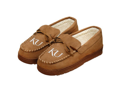 Kansas Jayhawks Moccasin Slipper
