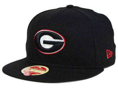 Georgia Bulldogs New Era NCAA Classic Wool 59FIFTY Cap