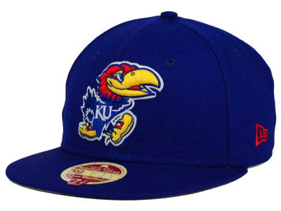 Kansas Jayhawks New Era NCAA Classic Wool 59FIFTY Cap