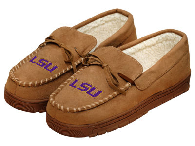 LSU Tigers Forever Collectibles Moccasin Slipper