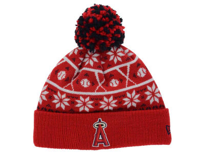 Los Angeles Angels New Era MLB Sweater Chill Pom Knit