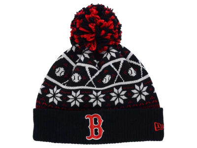 Boston Red Sox New Era MLB Sweater Chill Pom Knit