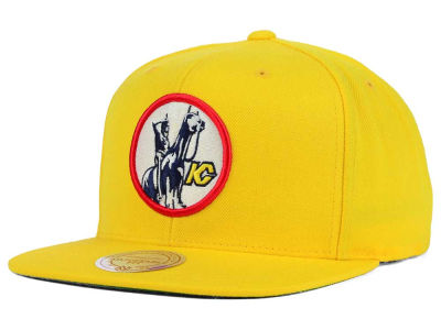 Kansas City Scouts Mitchell and Ness NHL Wool Solid Snapback Cap