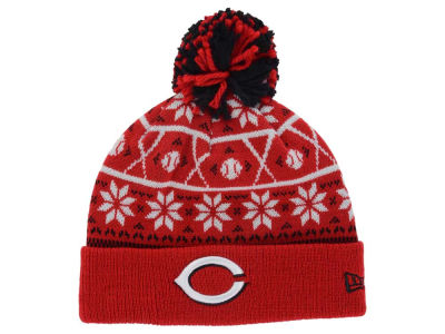 Cincinnati Reds New Era MLB Sweater Chill Pom Knit