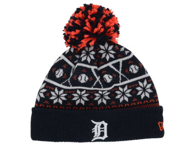 Detroit Tigers New Era MLB Sweater Chill Pom Knit