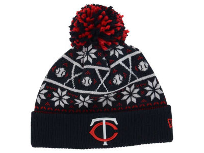 Minnesota Twins New Era MLB Sweater Chill Pom Knit