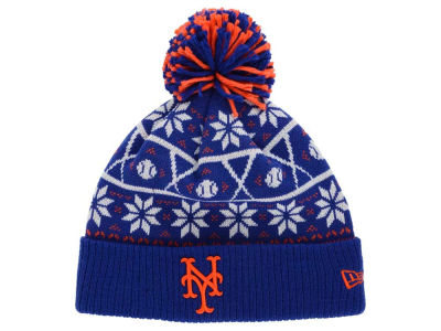 New York Mets New Era MLB Sweater Chill Pom Knit