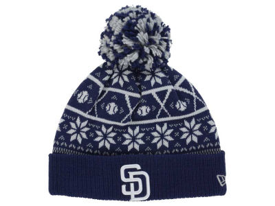 San Diego Padres New Era MLB Sweater Chill Pom Knit