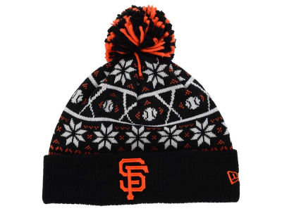 San Francisco Giants New Era MLB Sweater Chill Pom Knit