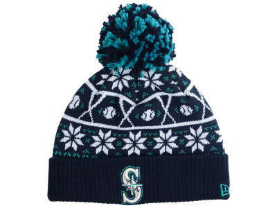 Seattle Mariners New Era MLB Sweater Chill Pom Knit