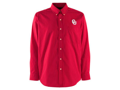 Oklahoma Sooners NCAA Men's Achieve Woven Button Up Shirt