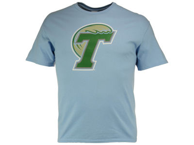Tulane Green Wave J America NCAA Men's Big Logo T-Shirt