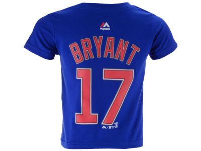 Chicago Cubs Kris Bryant MLB Toddler Official Player T-Shirt