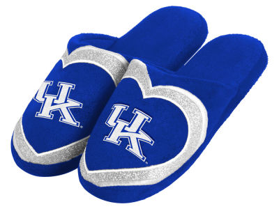 Kentucky Wildcats Love Glitter Ladies Slide Slipper
