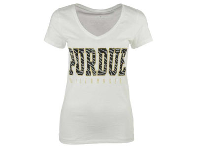 Purdue Boilermakers NCAA Women's Emma V-Neck T-Shirt