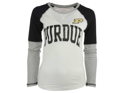Purdue Boilermakers NCAA Women's B & T Long Sleeve T-Shirt