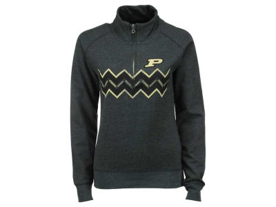 Purdue Boilermakers NCAA Women's Alpine 1/4 Zip Pullover Sweatshirt