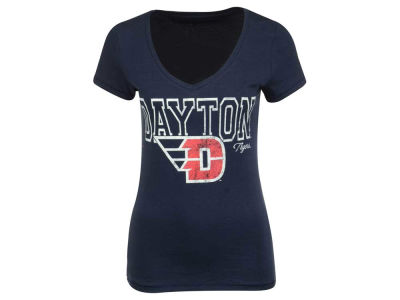 Dayton Flyers NCAA Womens Emma Vneck T-Shirt