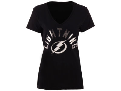 Tampa Bay Lightning GIII NHL Women's Foil Arch T-Shirt