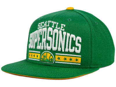 Seattle SuperSonics adidas NBA Stars Snapback Cap