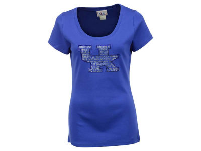 Kentucky Wildcats NCAA Women's Missy Jewel Neck T-Shirt