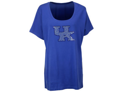 Kentucky Wildcats NCAA Missy 1X-2X Jewel Neck T-Shirt