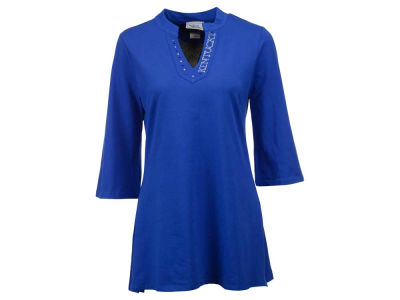 Kentucky Wildcats NCAA Women's Mandarin Collar Tunic 1XL-3XL Shirt