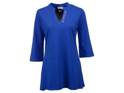Kentucky Wildcats NCAA Women's Manderin Collar Tunic Shirt